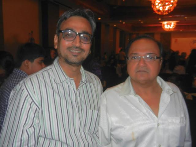 Camaal Mustafa Sikander with Bollywood Actor Rakesh Bedi