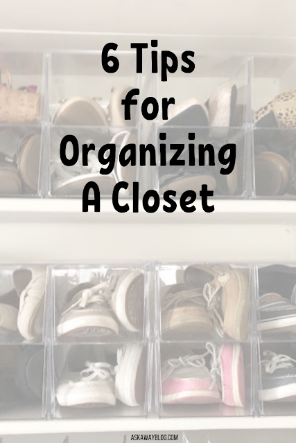 6 Tips for Organizing A Closet