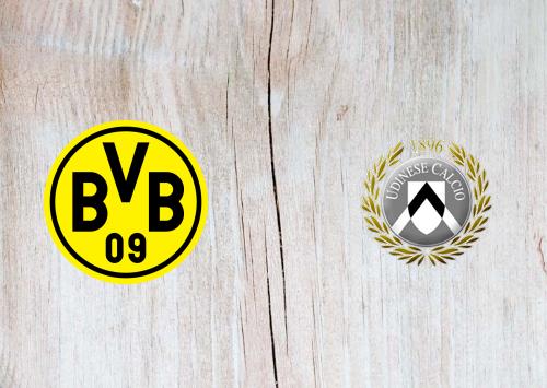 Borussia Dortmund vs Udinese Full Match & Highlights 27 July 2019
