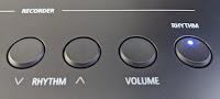 ES520 drum rhythm buttons