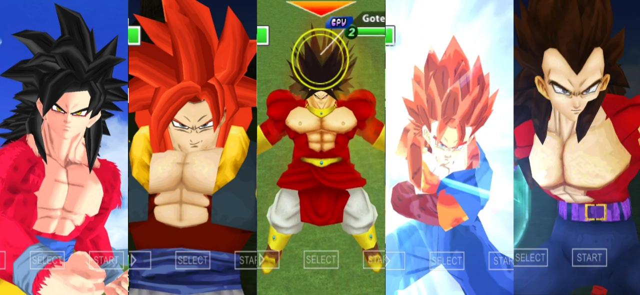 Dragon Ball Super Saiyan SSJ4
