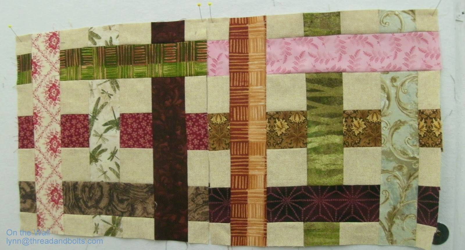 Thread and Bolts Quilting: Design Wall Monday- March 2, 2015
