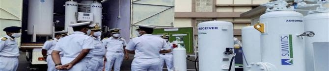 COVID-19: Indian Navy Brings 340 Metric Tons of Liquid Oxygen, Other Supplies From Abroad