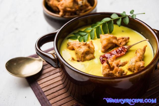 Punjabi kadhi pakoda recipe at home
