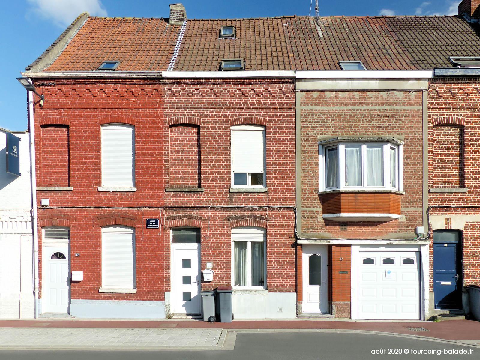 Square de l'Abattoir, Tourcoing 2020