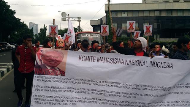 Mahasiswa Soroti Impor Beras dan Dugaan Korupsi Enggartiasto Lukita