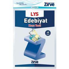 Zirve Dergisi LYS Edebiyat Konu Testi