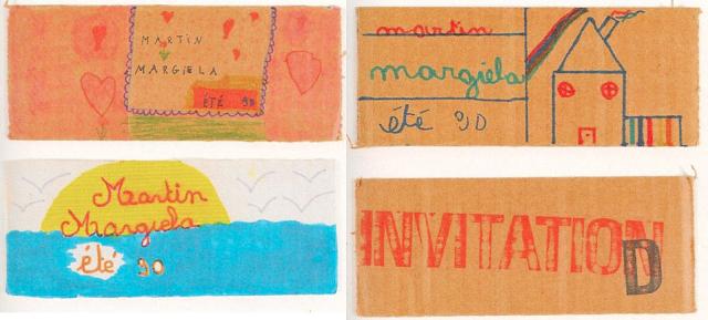 Maison Martin Margiela - S/S 1990 - INVITATION