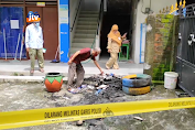 Polisi Selidiki Penyebab Kebakaran Ponpes Al Furqon Laren