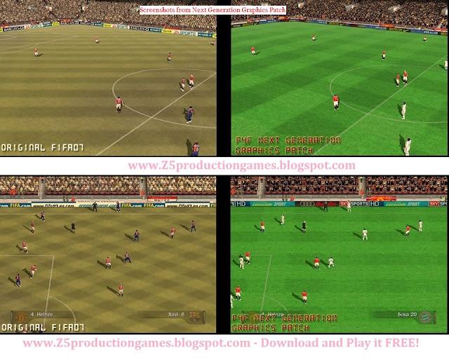 FIFA 07 Next Generation Patch
