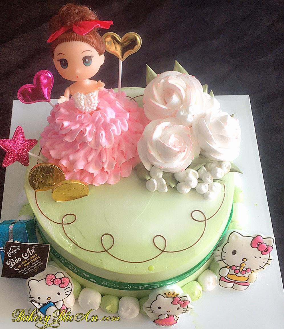 Bánh bé gái công chúa