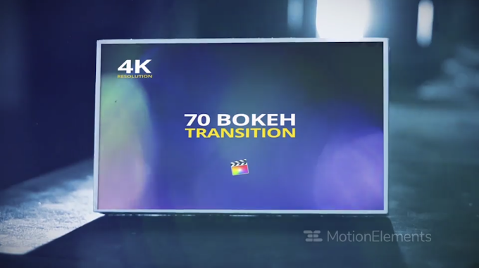 70 Bokeh Transition for Final Cut X