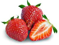 La fresas como fruta para antes de hacer ejercicio