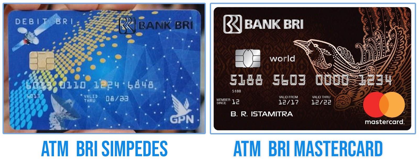 perbedaan ATM BRI Simpedes dan BRITAMA