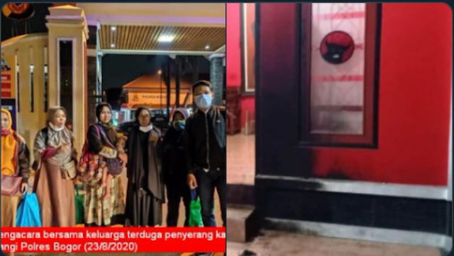 Lima Warga Bogor Ditangkap Polisi, Dituding Terlibat Bom Molotov Kantor PDIP