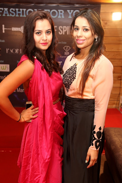 Designer Priyanka Sharma with Jyoti Praveen Goel