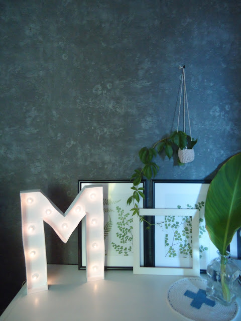 Light letter DIY