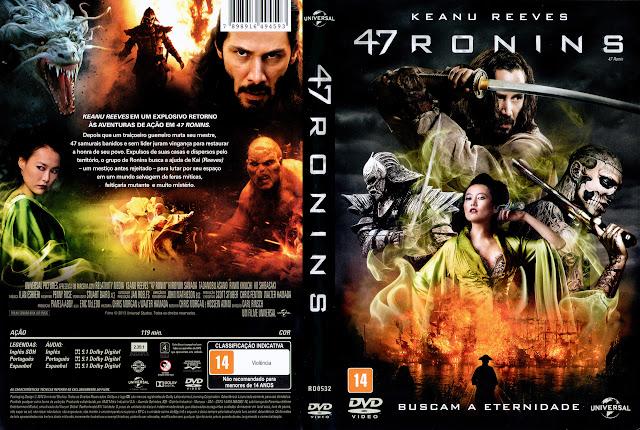 Capa DVD 47 RONINS