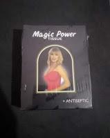 Alat Kesehatan Magic Power Premium Magic Tissue - Tisu Basah - Hitam