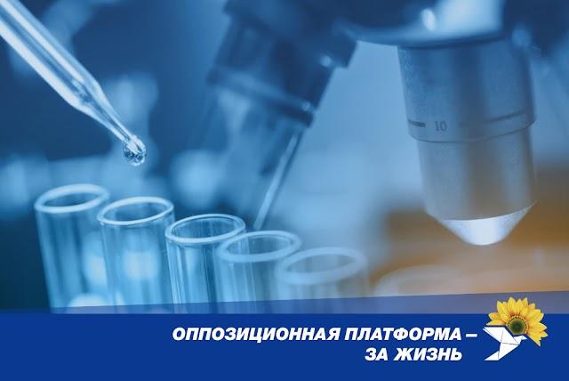 ОПЗЖ вимагає від влади комплексних заходів щодо захисту громадян та економіки від пандемії коронавірусу
