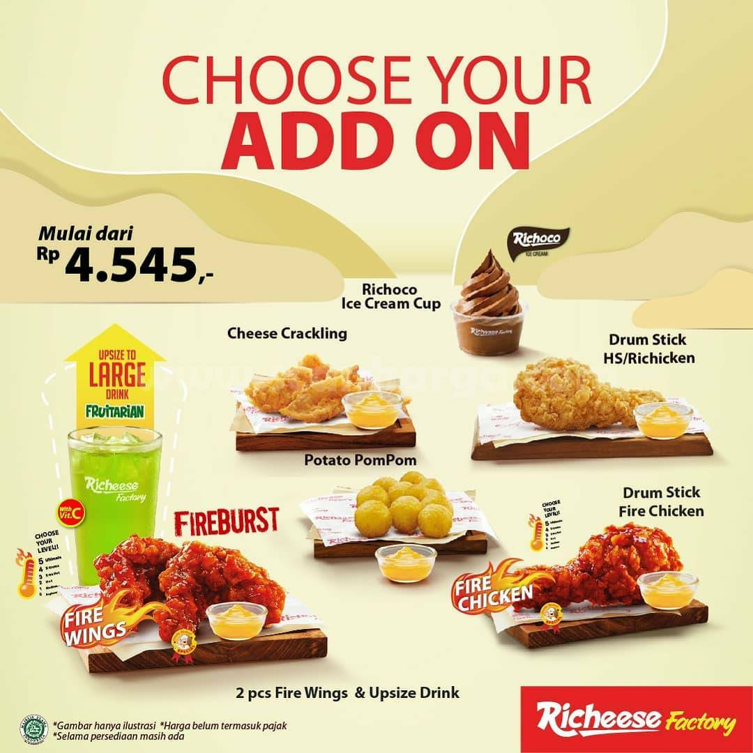 Richeese Factory Promo Special Price - Spicy Treats | 23 - 24 Maret 2021