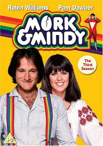 Mork & Mindy Third Season DVD