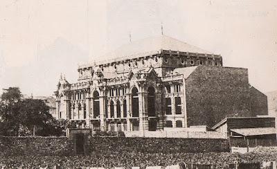 postal, Avilés, teatro, Palacio Valdés