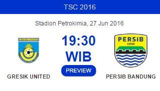 Persegres Gresik United vs Persib Bandung