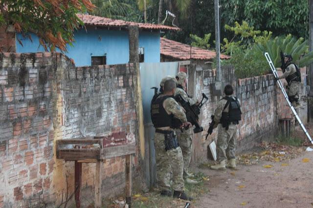 Polícia Federal cumpre mais de 60 mandados em operação no Maranhão