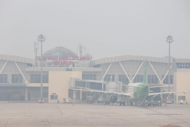 Akibat Kebakaran Hutan, Kualitas Udara Riau Memburuk