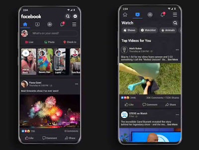 Facebook app's dark mode begins rolling out more widely