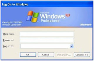 Mengubah kotak login klasik di windows xp (disable windows login screen classic)
