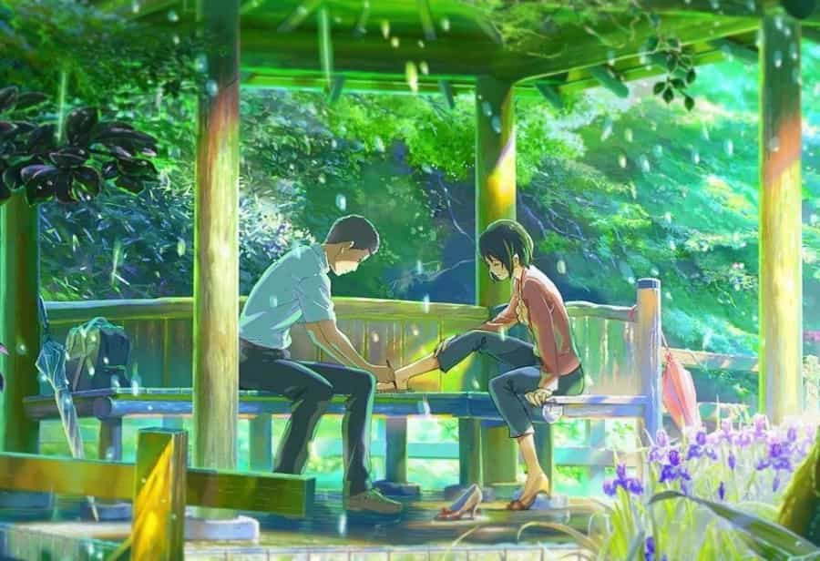 The Garden of Words anime hindi dubbed