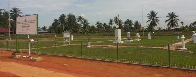 Standar Taman Alat Pada Stasiun Klimatologi di Indonesia