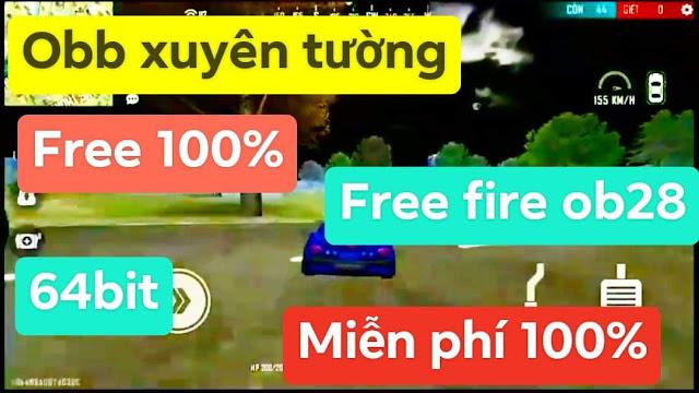 FREE FILE XUYÊN TƯỜNG 32BIT FREE FIRE OB28 AUTO RANK XUYÊN ĐÁ XÓA NHÀ AUTO RANK