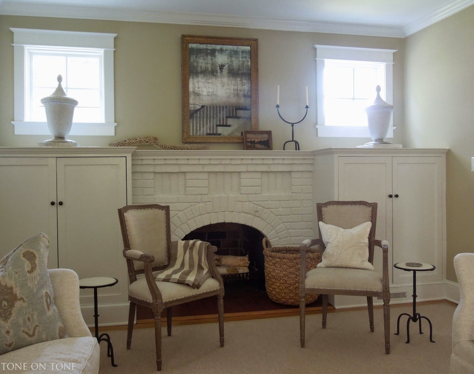 Tone On Tone Interior Amp Garden Design A Living Room Project