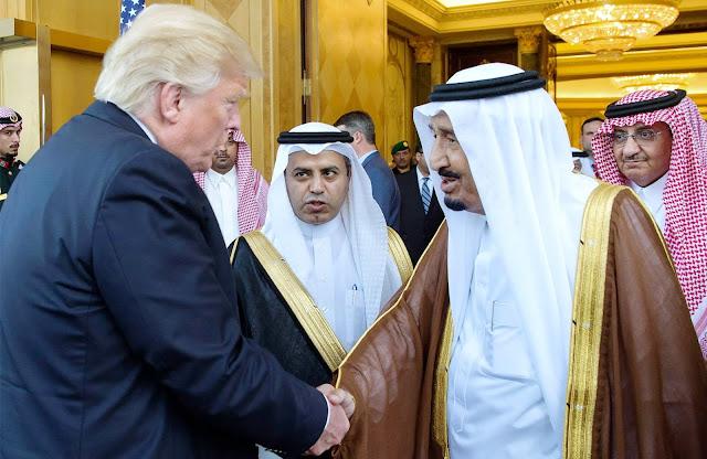 Soal Palestina, Raja Salman Peringatkan Trump