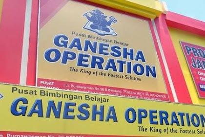 Biaya Bimbel di Ganesha Operation (Tarif Baru)