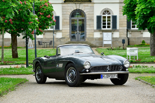 The full story of the BMW 507