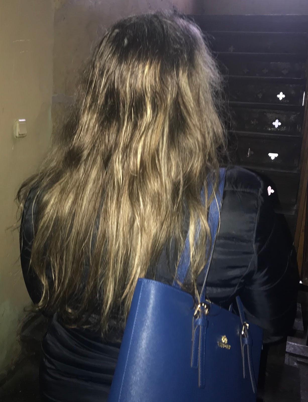 Piekna przed switami-  zimowa pielęgnacja włosów/  Mój sposob na elektryzujace włosy