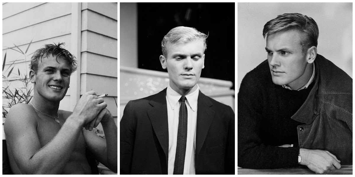 Heartthrob of the '50s: A Look Back at a Young and Handsome Tab Hunter