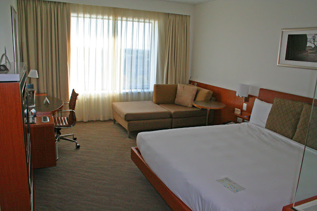 Guest room, Novotel Cathedral Square, Christchurch, New Zealand