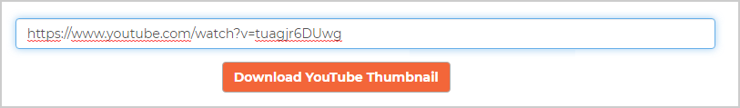 Enter your YouTube video URL
