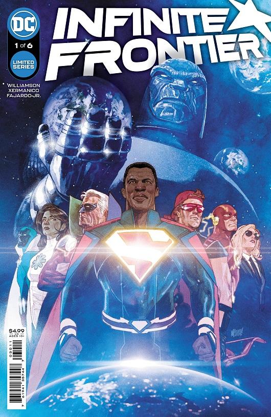Cover of Infinite Frontier #1
