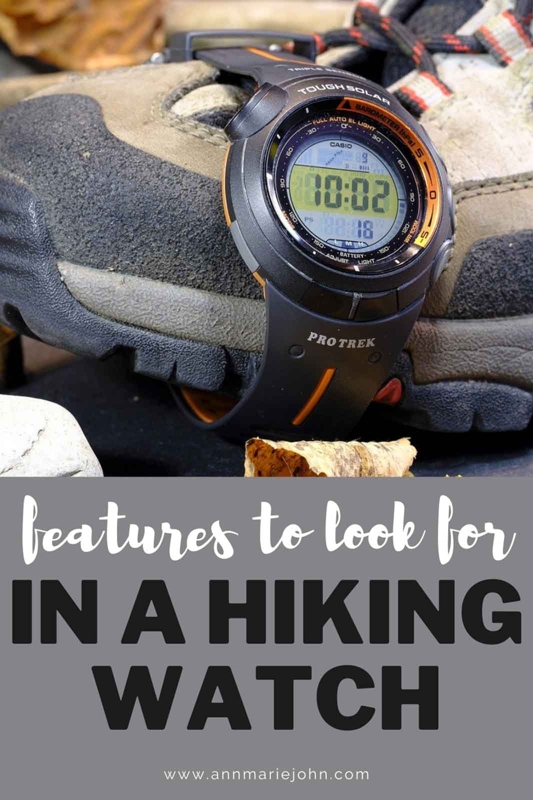 Features To Look for In A Hiking Watch
