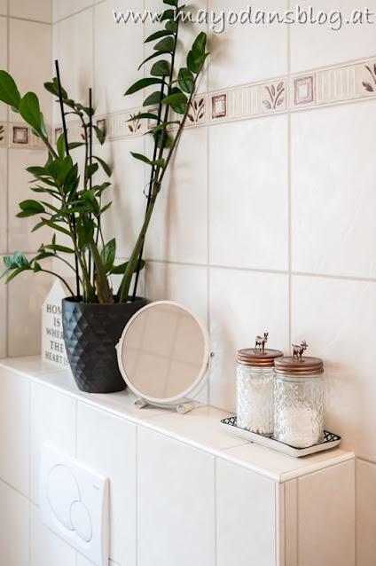 DIY Gläser für Badezimmerzubehör