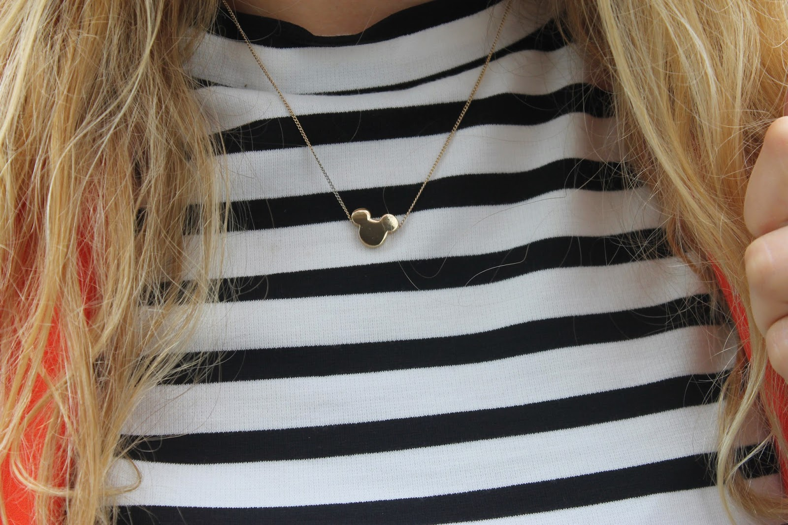 H&M Mickey Mouse Necklace