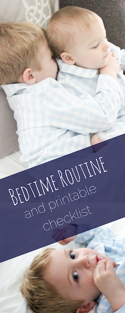 Bedtime Routine for Kids, Toddler Bedtime Routine, Printable Bedtime Routine; Bedtime Routine Checklist; Back to School Checklist; School Night Checklist; Nested Bean bag, Petite Plume Pajamas Gingham pajamas