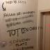 """الموت للمسيحيين """" عبارة على حائط على مبني حكومي فى فيينا تقود الى استنفار أمني"""