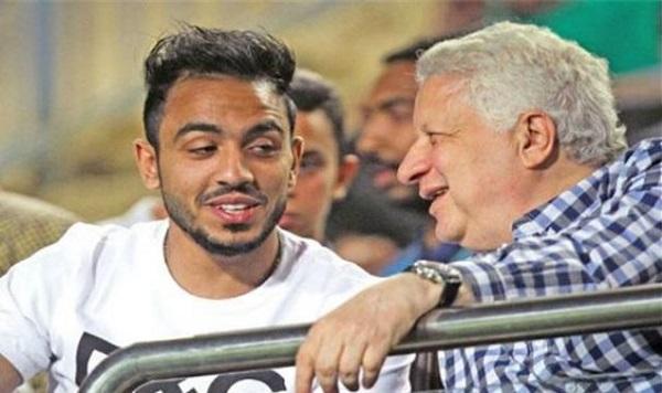 مرتضى منصور وكهربا ، منتخب مصر